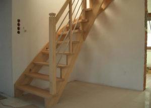 Деревянные лестницы во Владимире