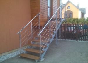 Металлические лестницы во Владимире